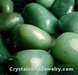 Dark Green Aventurine Tumbles Example
