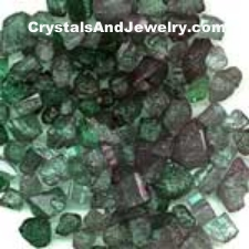 Emerald is green beryl.