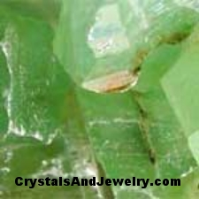 Example of Green Calcite