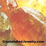 Example of Honey Calcite