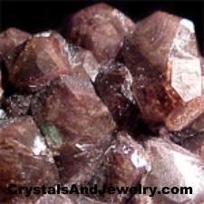 Example of Black Calcite