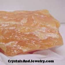 Orange Calcite Example
