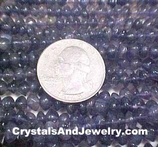Iolite Beads Example