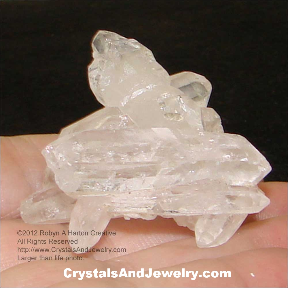 Quartz Crystal Cluster Example