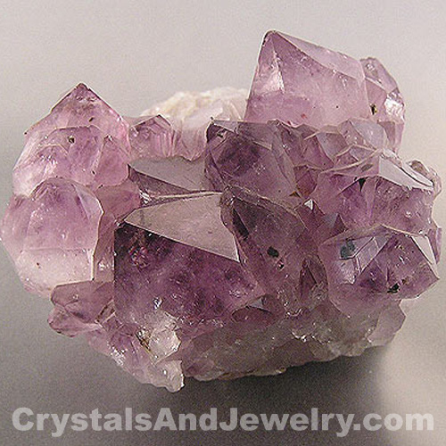 Amethyst Clusters are good for clearing other crystals, as are many types of clusters.
