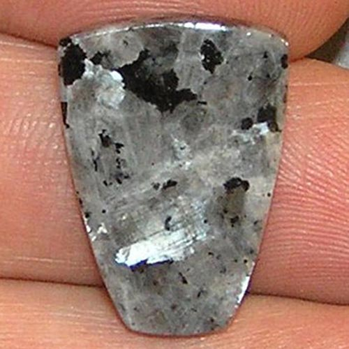 Larvikite aka Black Labradorite or Black Moonstone Example