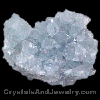 Celestite is a throat chakra stone.