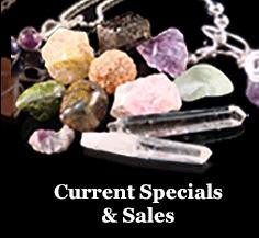 Current specials and sales.