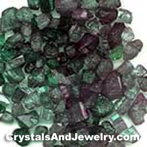 Rough Emerald Crystals Example