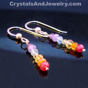 Crystals, Reiki, and Chakras Earrings