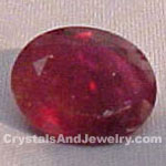 Ruby is the traditional and modern birthstone for July.