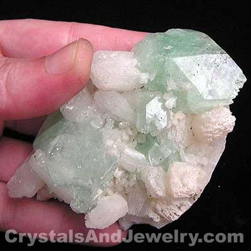 Green Apophyllite Example