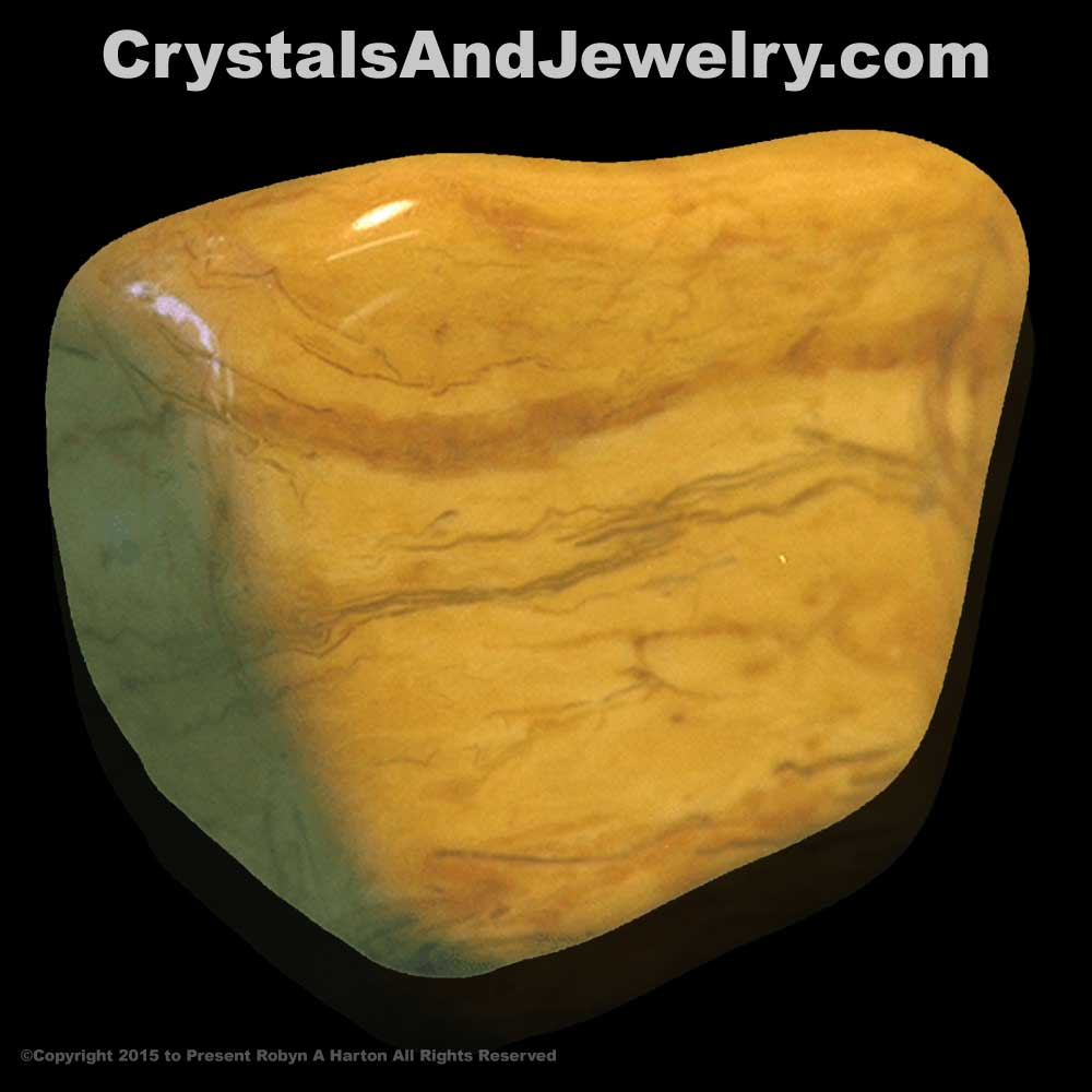 Yellow Jasper Tumble Example