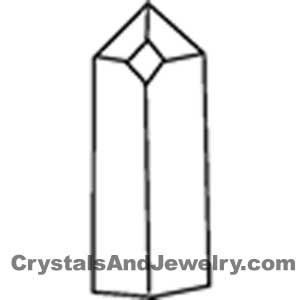 Drawing of a window crystal