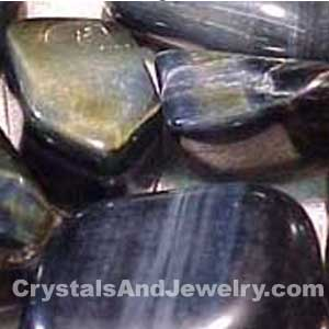 Blue Tigers Eye Tumbles