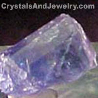 Tanzanite Crystal Example