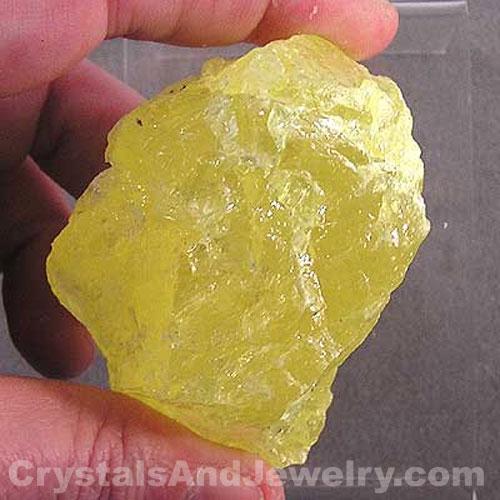 Sulphur Crystal Example