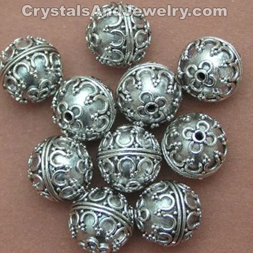 Stering Silver Beads Examples