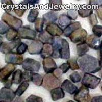 Natural Sapphire Crystals Example