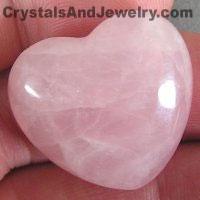 Rose Quartz Heart Example