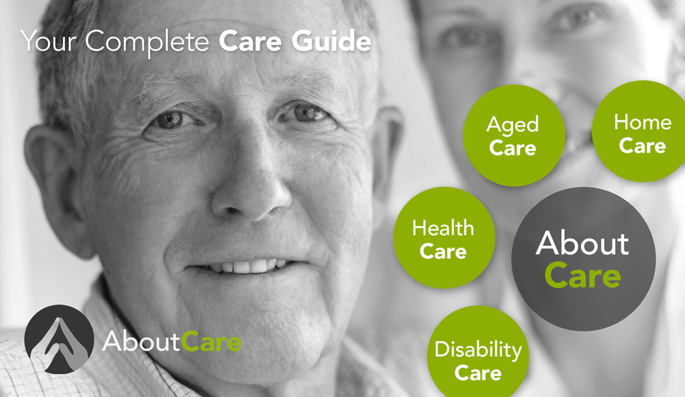 AboutCare | AboutHealthCare | AboutAgedCare | AboutDementiaCare | AboutDisabilityCare | AboutHomeCare | AboutDentalCare | AboutChildCare. All Australian domains secured.