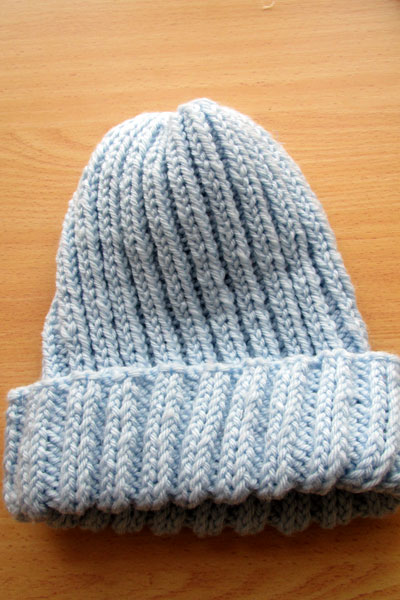Knit Stocking Cap Pattern : Basic Knitted Stocking Hat (Free Pattern)   Karole Kurnow
