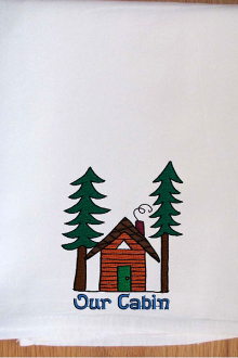 Karole Kurnow Our Cabin Dishtowel.jpeg