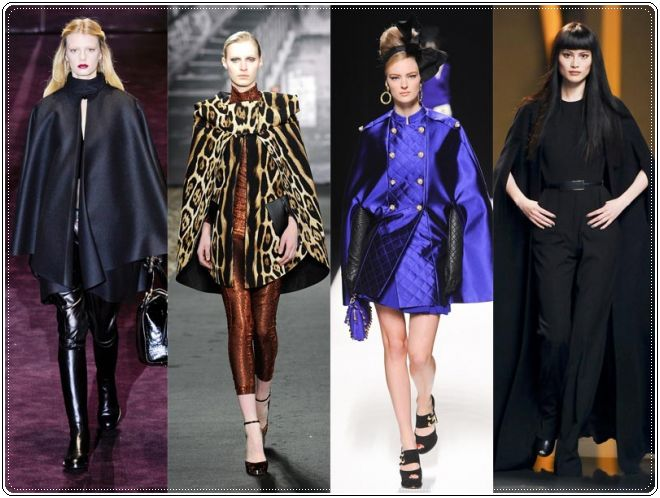 The Cape Style Coat, Autumn Winter 2013 Coat Trend