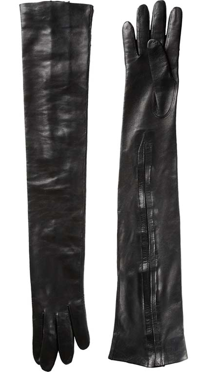 Haider Ackermann Long Leather Gloves, Barneys, approx $461.85AUD