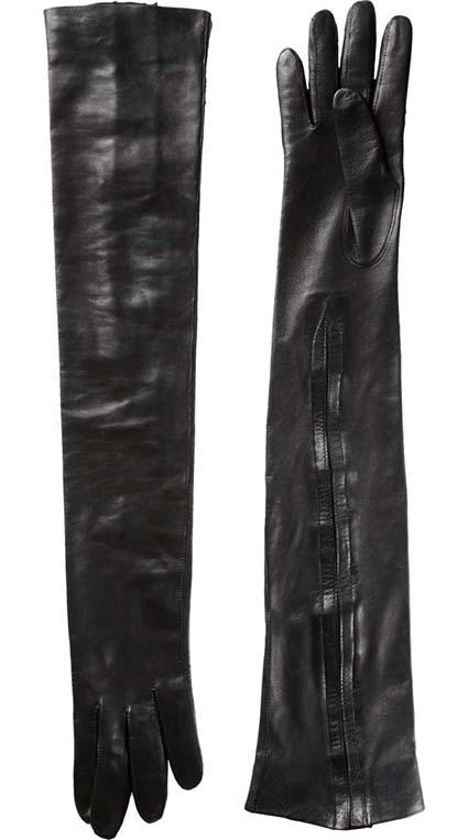 Haider Ackermann Long Leather Gloves, Barneys, approx $461.85AUD