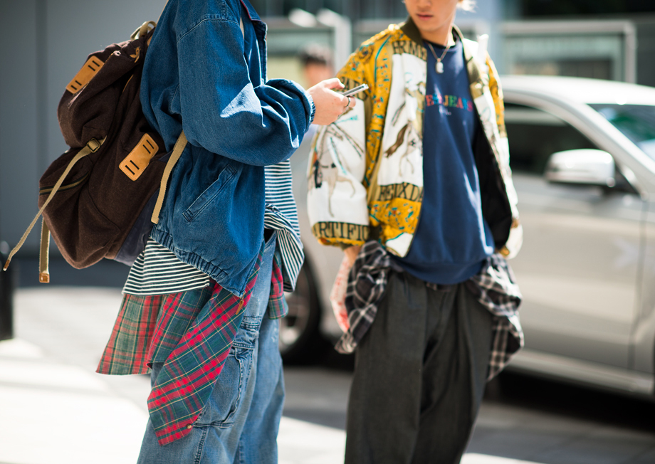 Tokyo Fashion Week Spring Summer 2014 Street Style, photo from Le-21éme.com