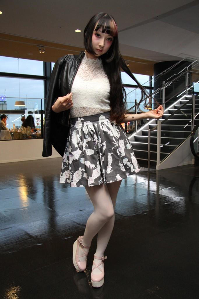 Tokyo Fashion Week Spring Summer 2014 Street Style, photo by Yukie Miyazaki