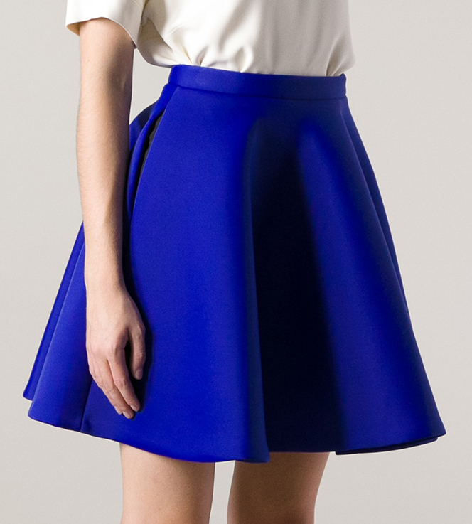 MSGM Circle Skirt, Farfetch, approx $372AUD