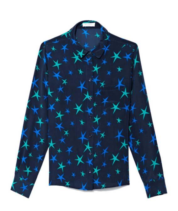 Equipment Everett Star Print Silk Blouse, Moda Operandi, approx $274AUD