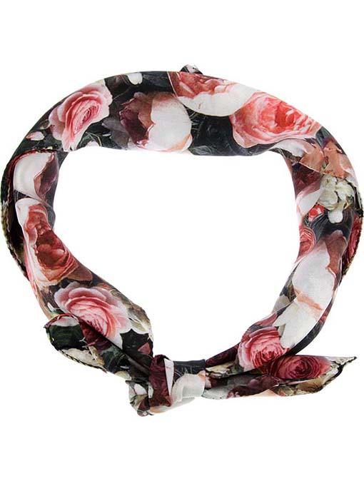 Givenchy Floral Print Silk Scarf, Farfetch, approx $209AUD