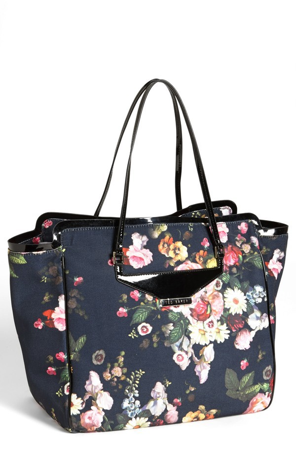 Ted Baker London Oil Blossom Shopper, Nordstrom, approx $204.50AUD