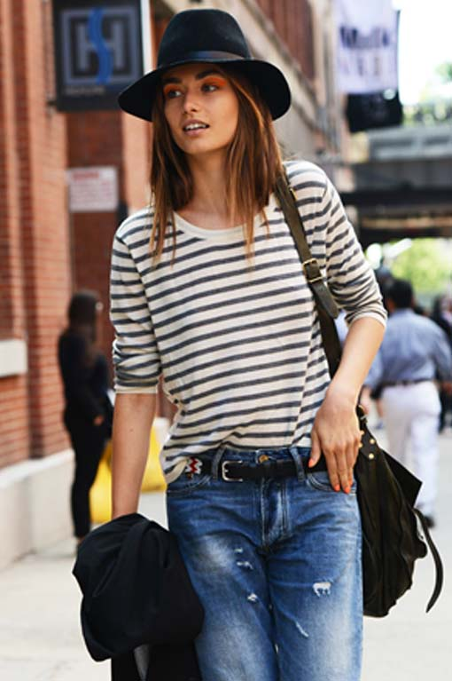 Stripes on the Street, Street Style