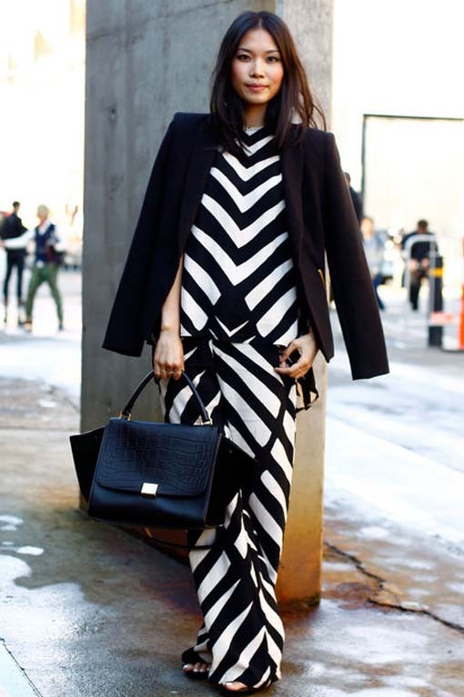 Stripes on the Street, Street Style