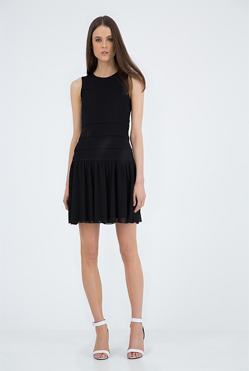 Mesh Cut Out Dress, Country Road, $179AUD