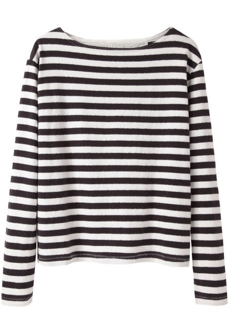 WOOD WOOD Adrien Striped Top, La Garconne, $110AUD