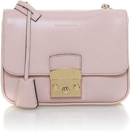 Coccinelle Small Pink Shoulder Bag, House of Fraser, approx $238.40AUD