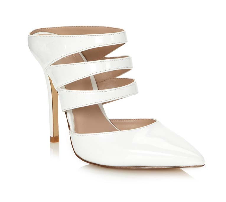 Truth or Dare By Madonna White Heels, Debenhams, on SALE approx $90.10AUD