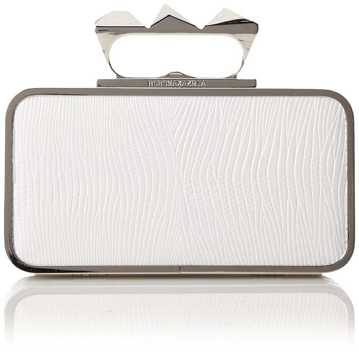 BCBG Knuckle Duster Clutch, Amazon, approx $185.30AUD