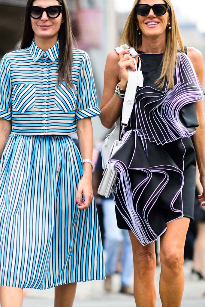 New York Fashion Week Spring Summer 2015 Street Style, photo Adam Katz