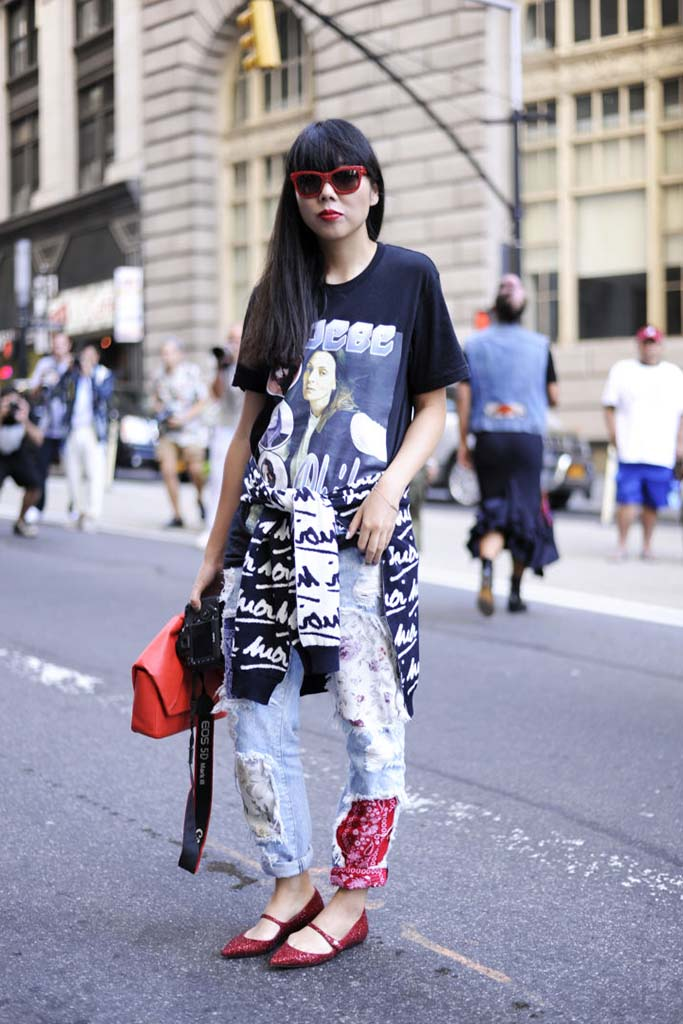 Susie Bubble,  New York Fashion Week Spring Summer 2015 Street Style
