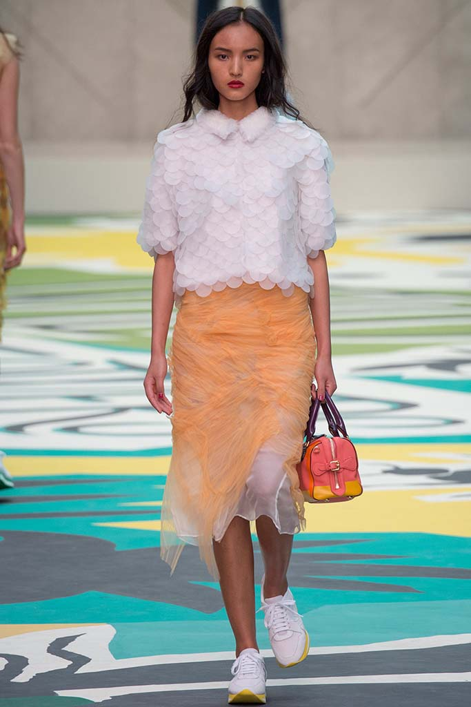Burberry Prorsum Womenswear Spring Summer 2015