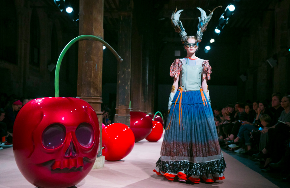 Jun Takahashi's Undercover show revealed The Garden of Earthly Delights in 51 looks.