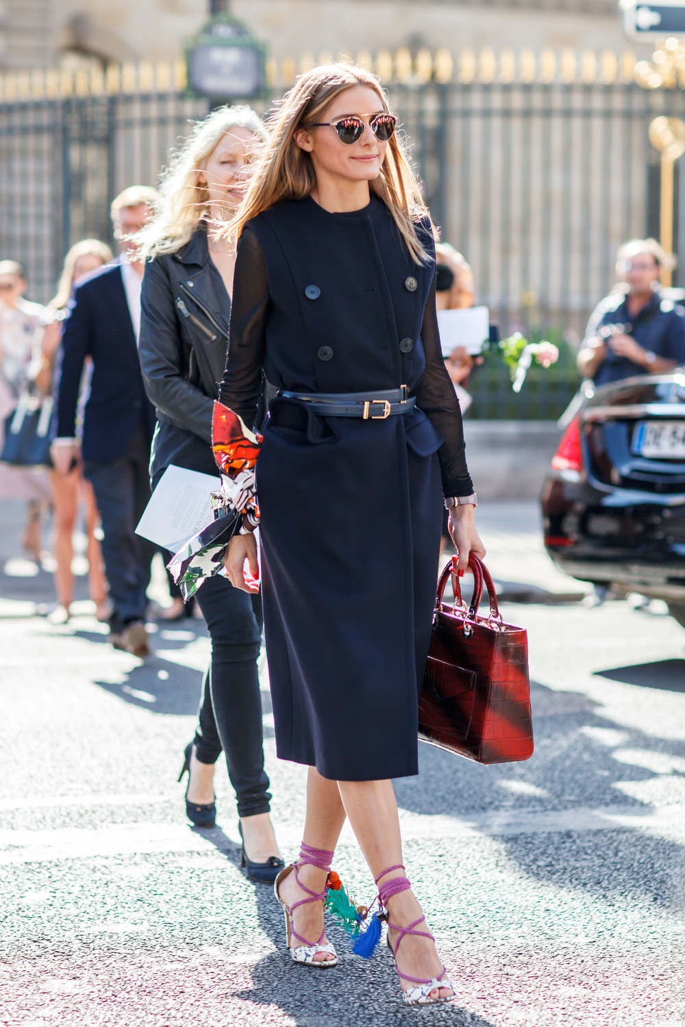 Olivia Palermo, Paris Fashion Week Street Style, photo by Vincent of yourensemble.com