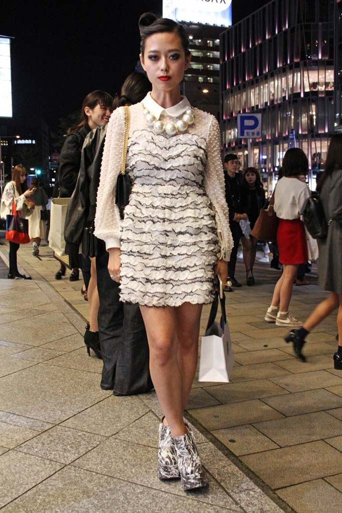 Erika Gold, Mercedes-Benz Tokyo Fashion Week Street Style
