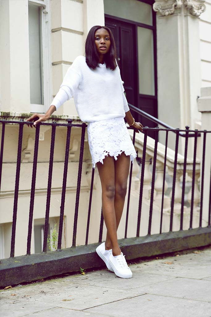 The All White Street Style Look